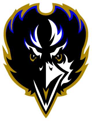 Baltimore Ravens Raven transparent PNG.