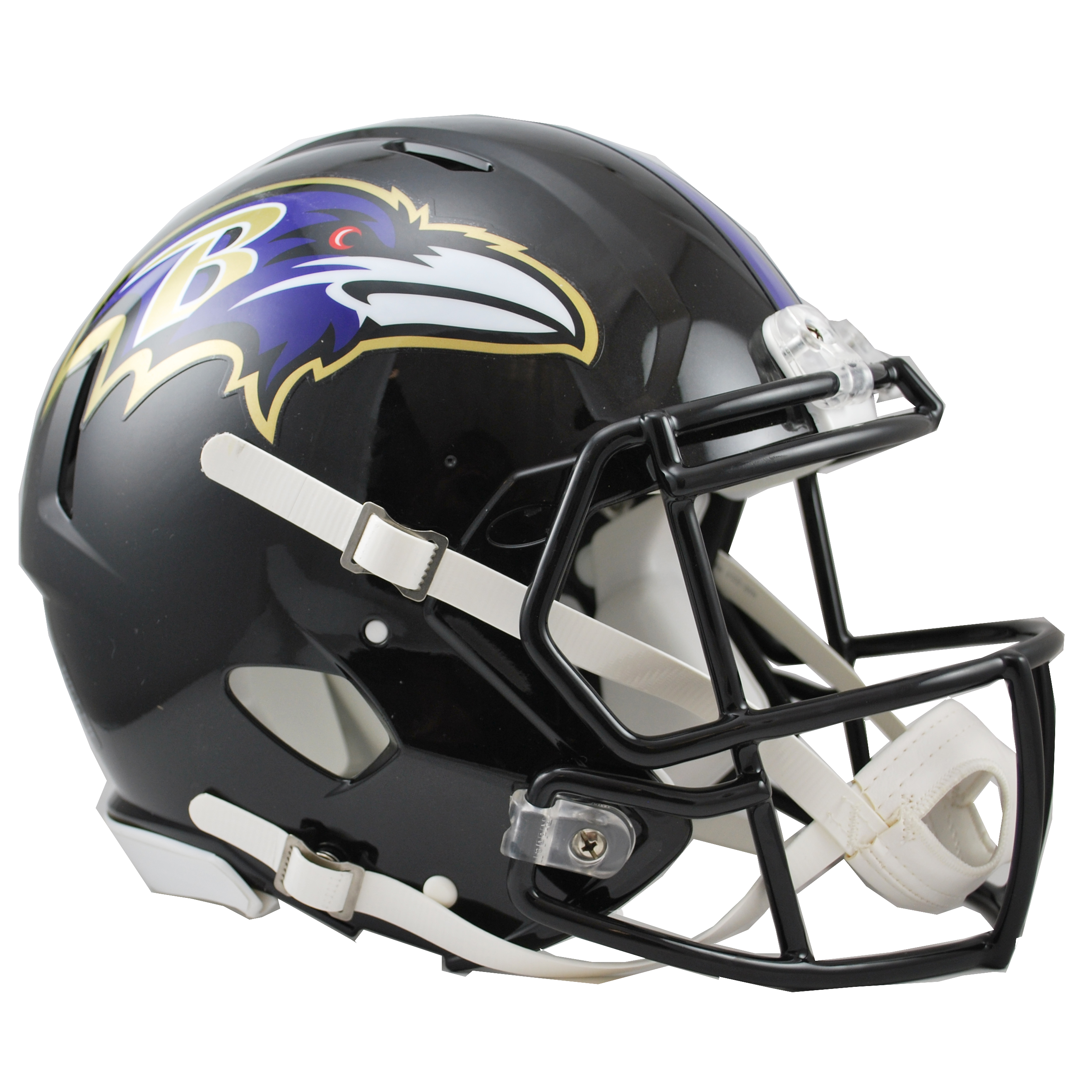 Baltimore Ravens Speed Authentic Helmet.