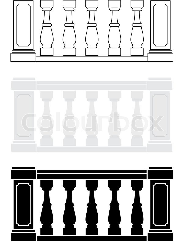Illustration of architectural element.