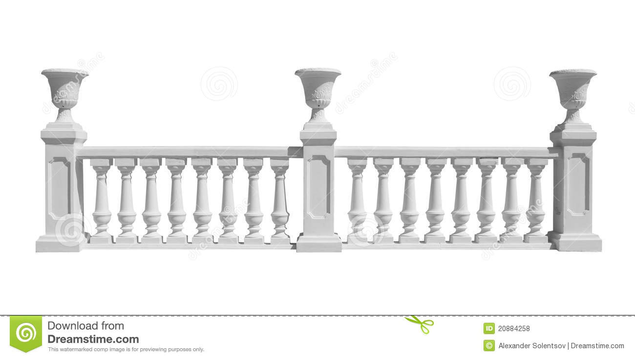 Balustrade Royalty Free Stock Image.