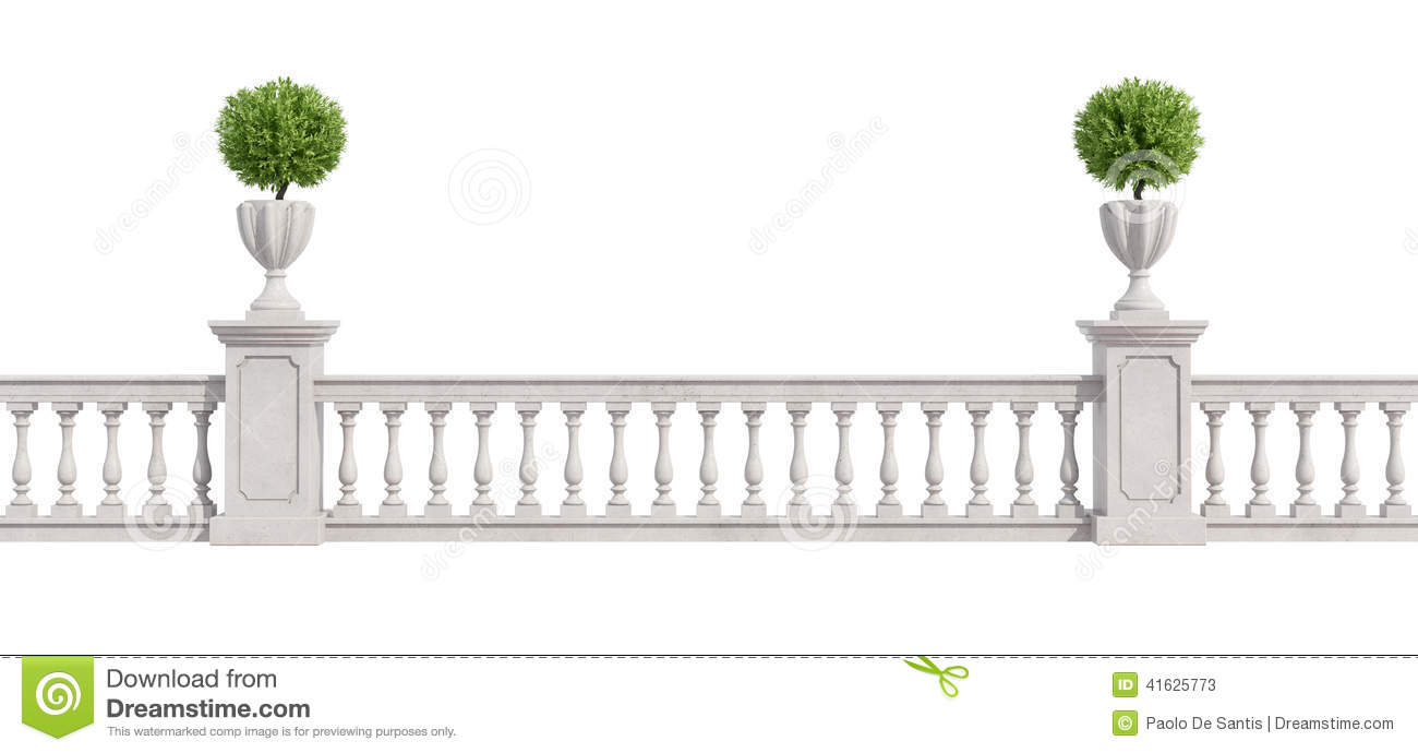 Balustrade Stock Illustrations.