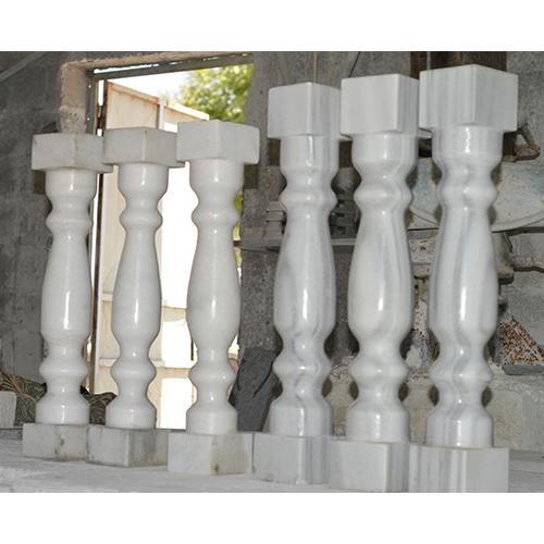 Stone Balustrade Railings.