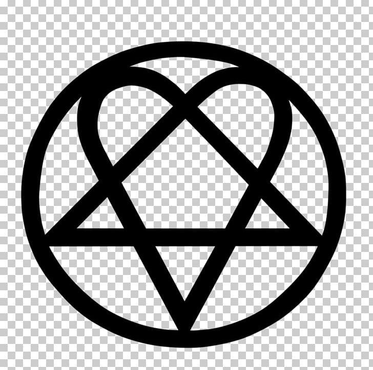HIM Heartagram Logo Decal PNG, Clipart, Area, Bam Margera.