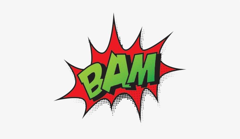 Comic Book Bam Png Transparent.