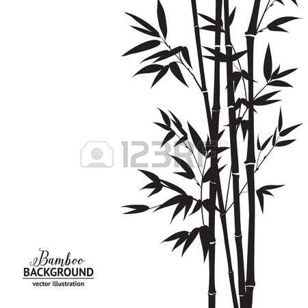 Bambbo bush clipart