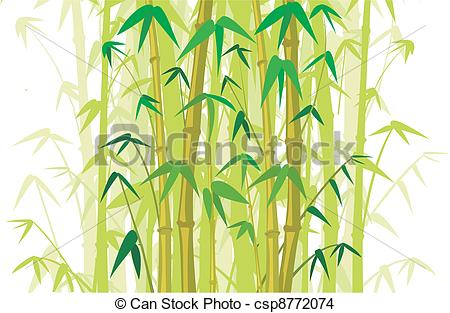 EPS Vector of bamboo background.