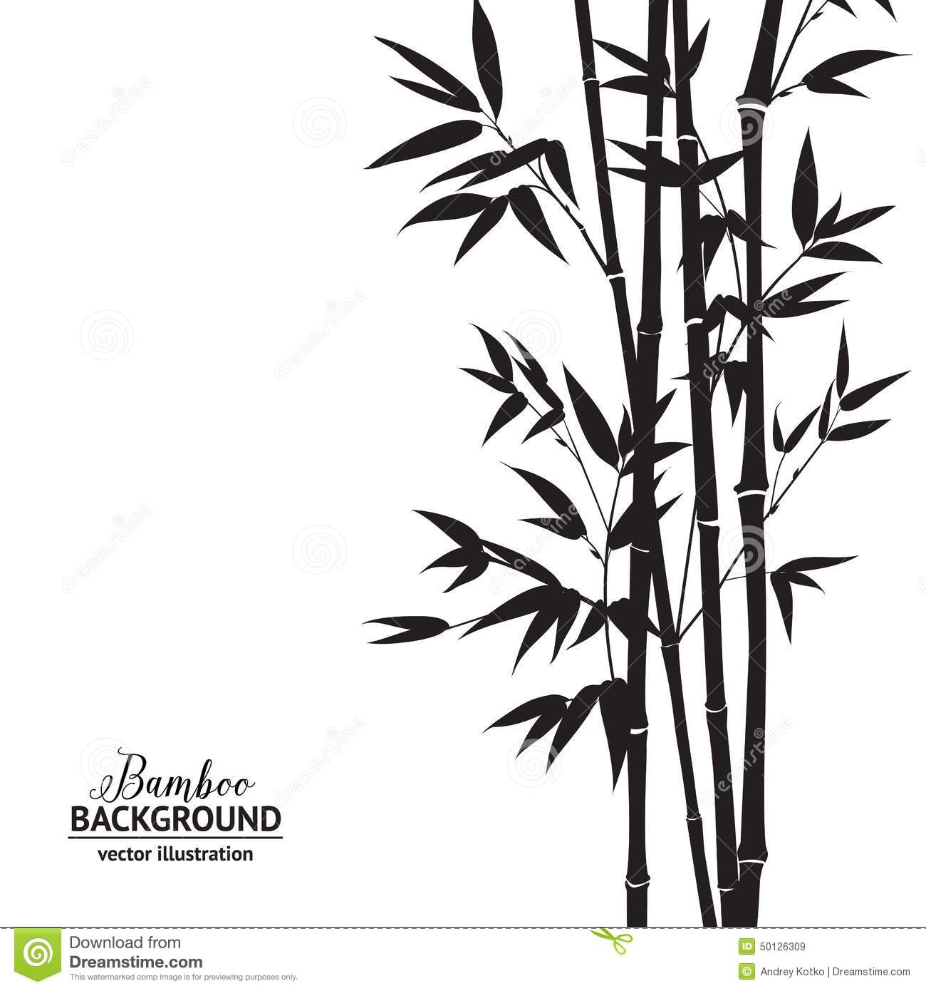 Bamboo Bush Stock Image.