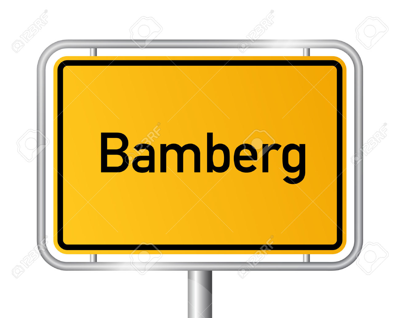 City Limit Sign Bamberg.