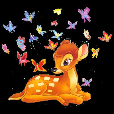 Bambi clip art.