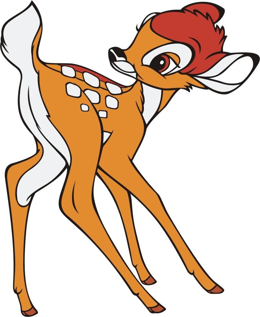 Bambi clipart #10