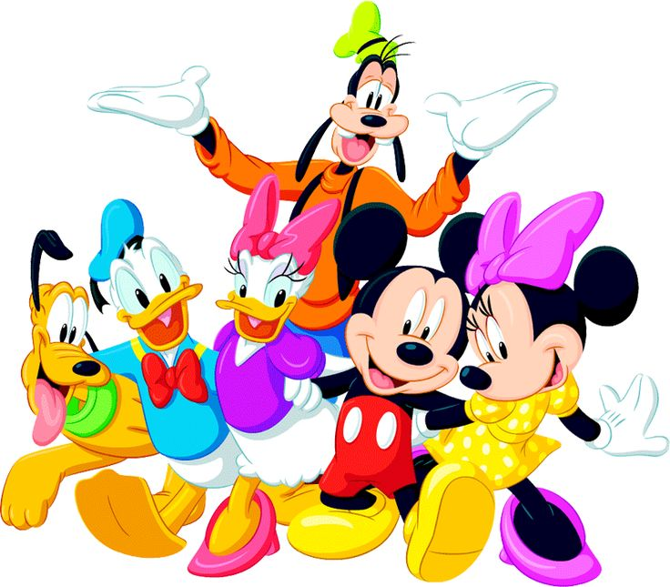 mickey and friends birthday clipart 20 free Cliparts ...