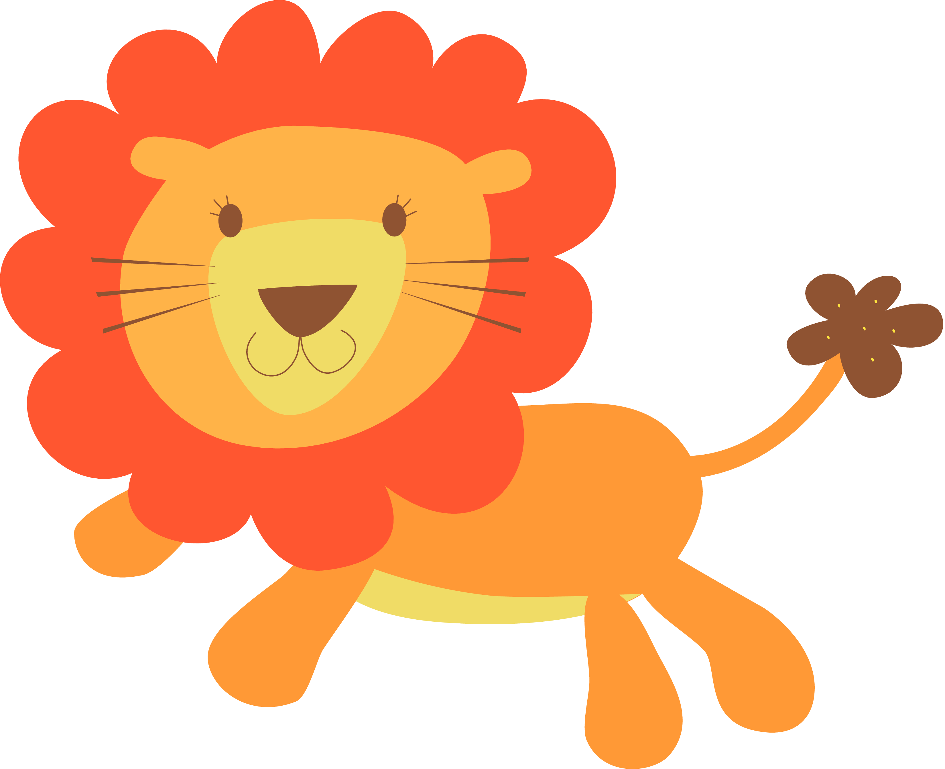 lion baby clipart #19