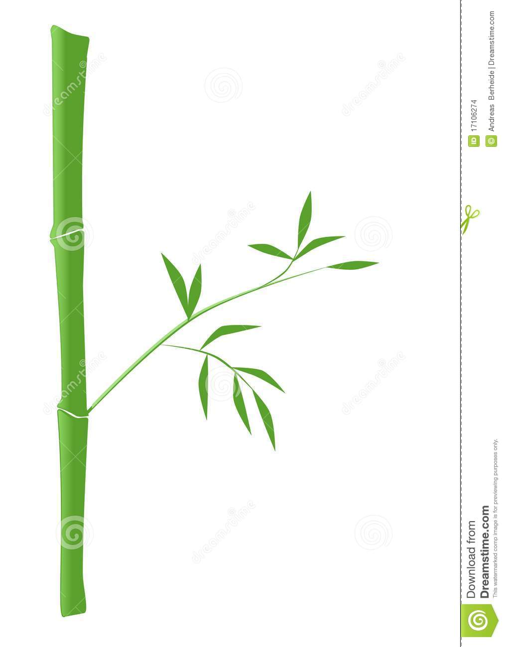 Bamboo Sticks Clip Art.
