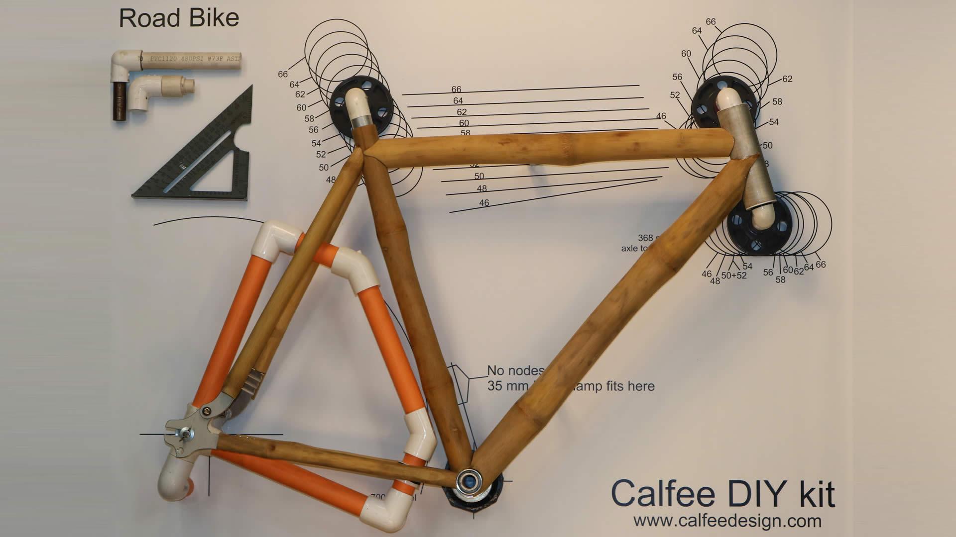 DIY Bamboo Bike Kit.
