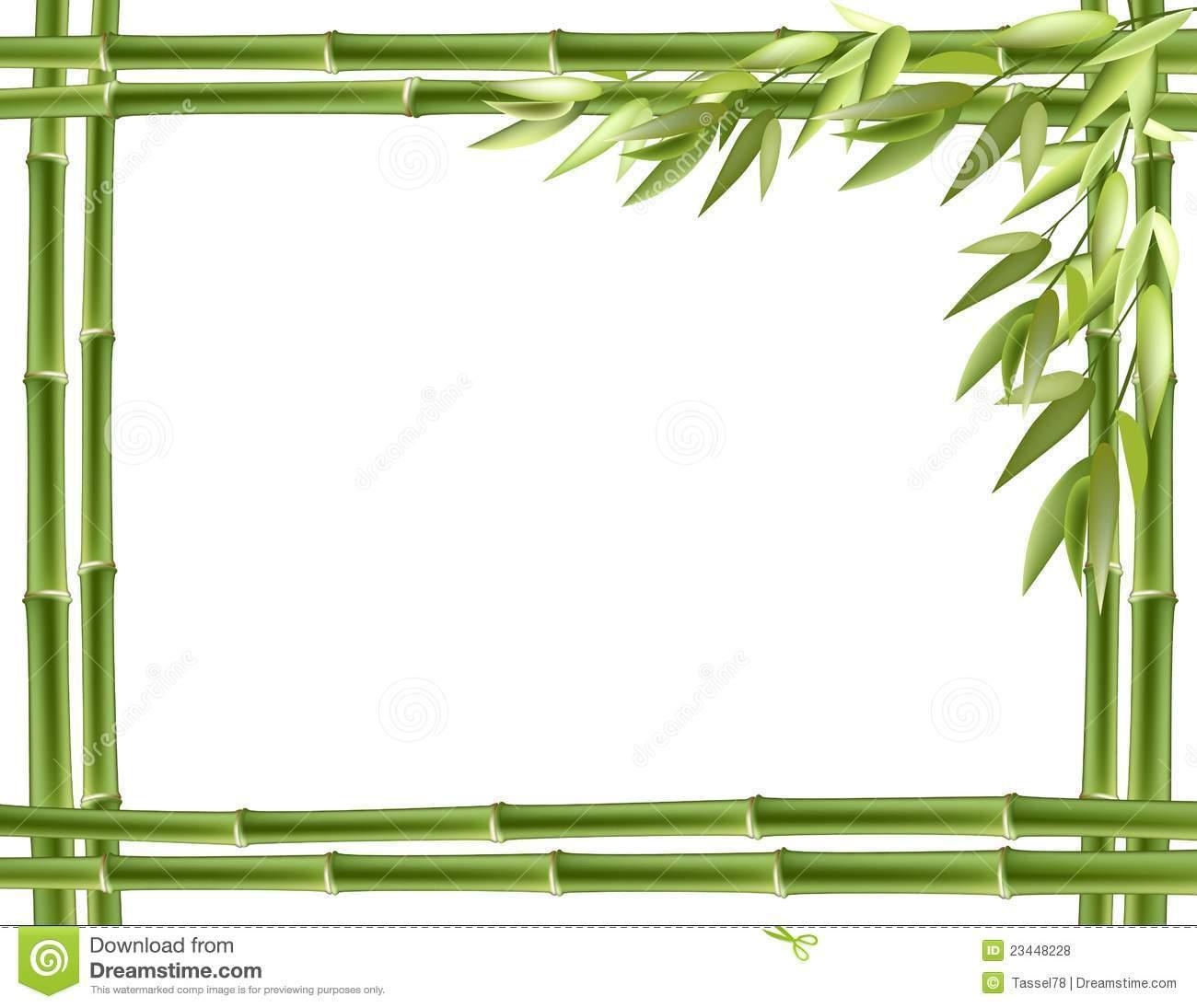 Bamboo border clipart free 1 » Clipart Portal.