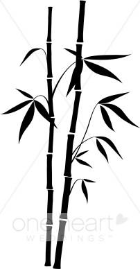 Bamboo Clipart.