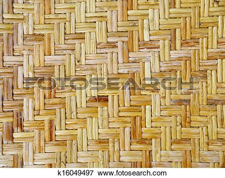 Picture of bamboo craft texture k16049497.