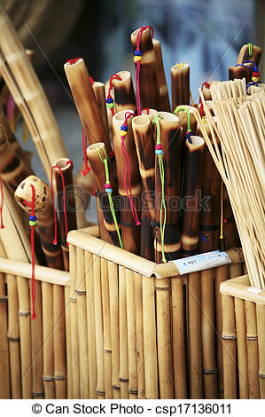 Stock Photography of crafts in south korea, bamboo craft.