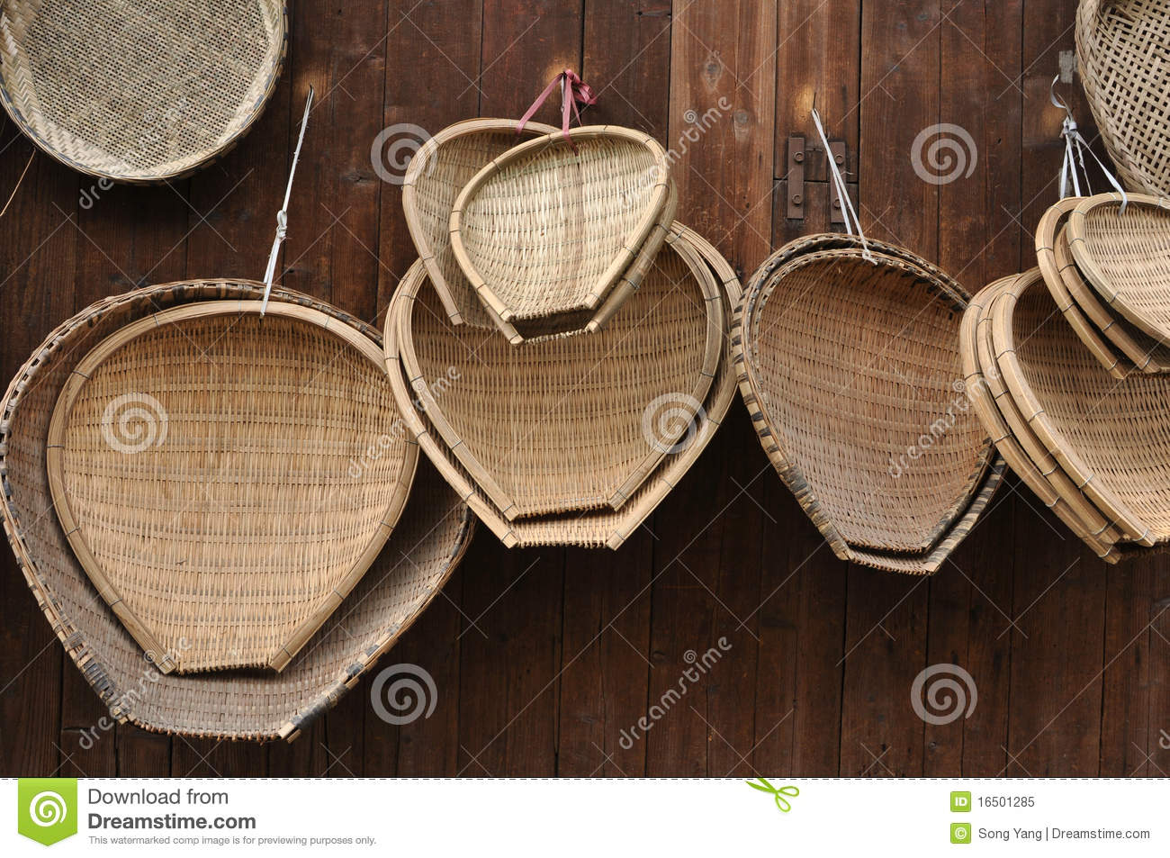 Bamboo Craft Royalty Free Stock Photo.