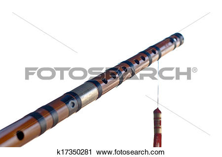 Clipart of bamboo flute k17350281.