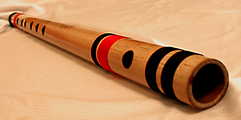 Bamboo Grove Photo: Bamboo Flute.