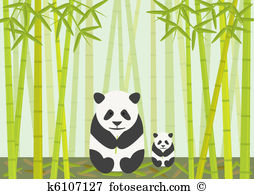 Bamboo forest clipart #16