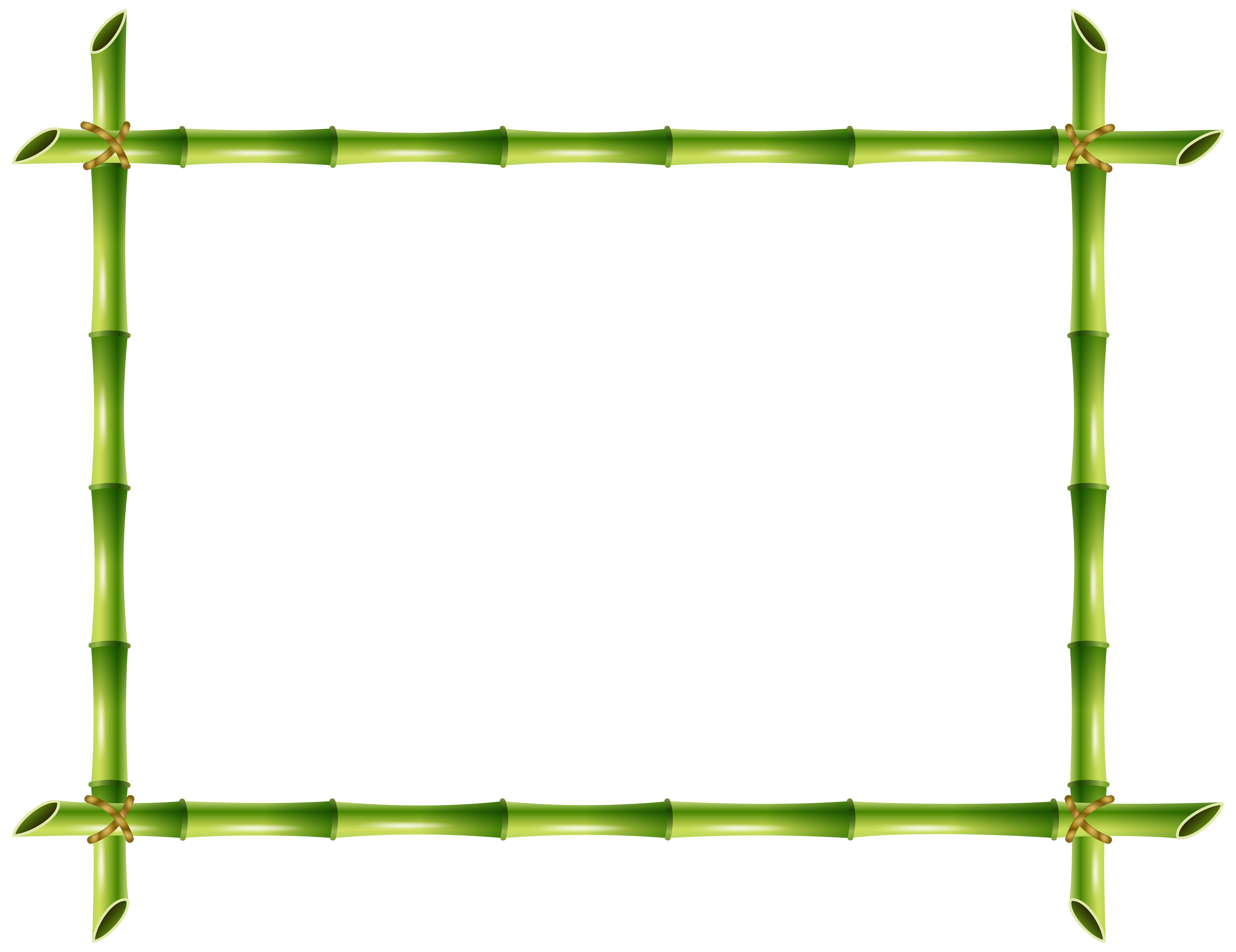 Transparent frame clipart clipground bamboo frame clipart jeuxipadfo Gallery
