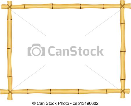 Bamboo frame Vector Clipart Illustrations. 894 Bamboo frame clip.