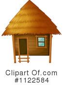 Bamboo Hut Clipart #1.