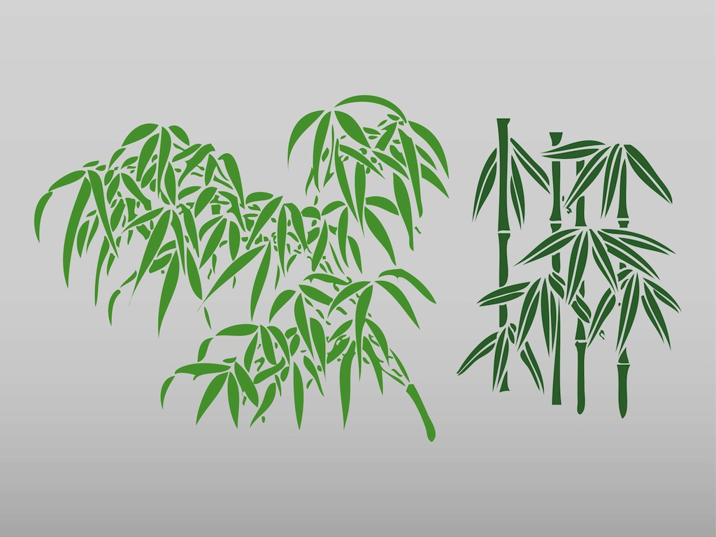 Bamboo Leaves Logo Bamboo Leaf Clip Art #3y8h2d.