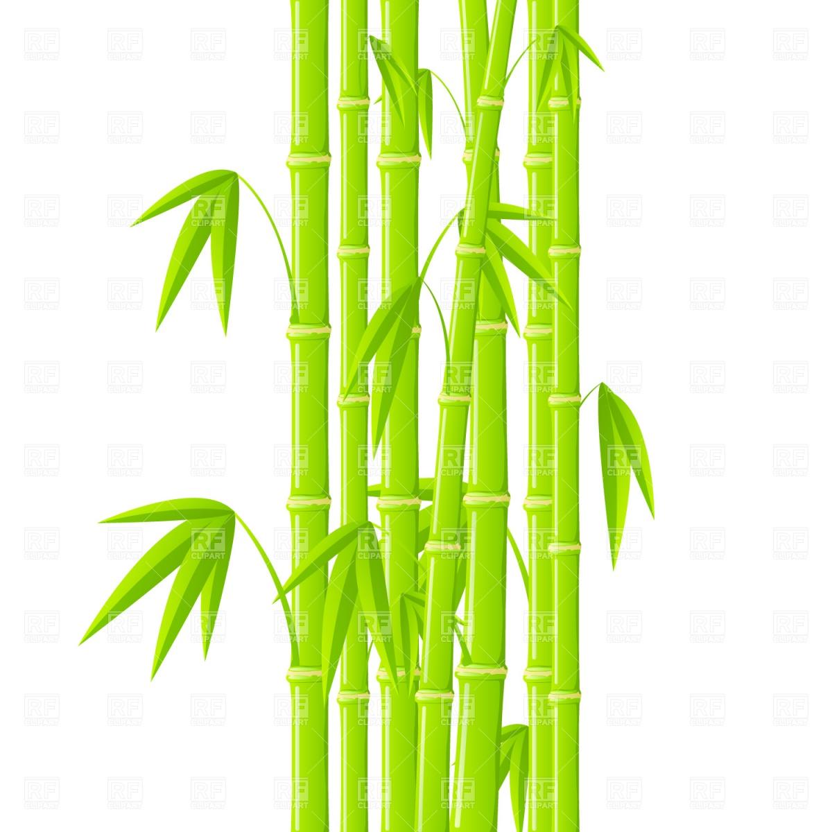 Bamboo tree clip art.