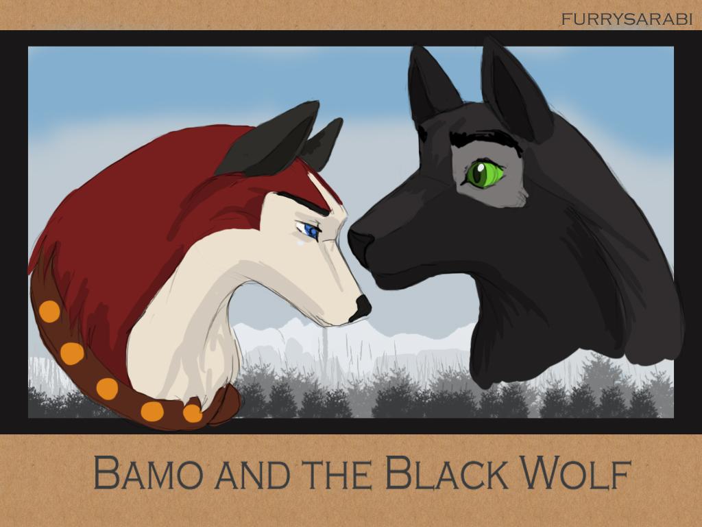 Bamo Black Wolf Poster by dyb on DeviantArt.