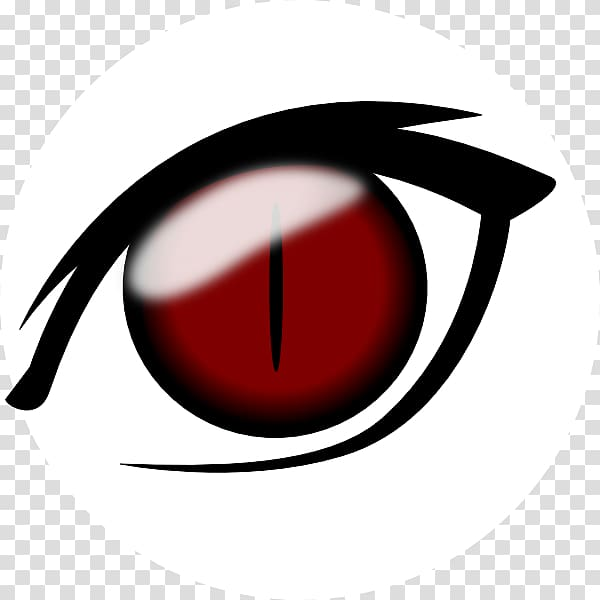Eye Anime Drawing , Winky Eye transparent background PNG.