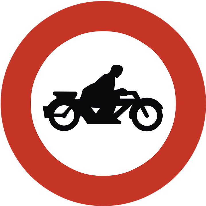 Free vector graphic: Ban, Motorcycles, Forbidden.