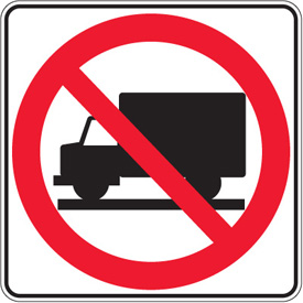 New TRUCK BAN schedule for Dec 7 , 2012 to Jan 6, 2013.