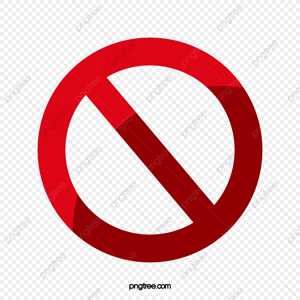 Red Ban, Prohibit Pictures, Red Prohibit Photos, Elements.