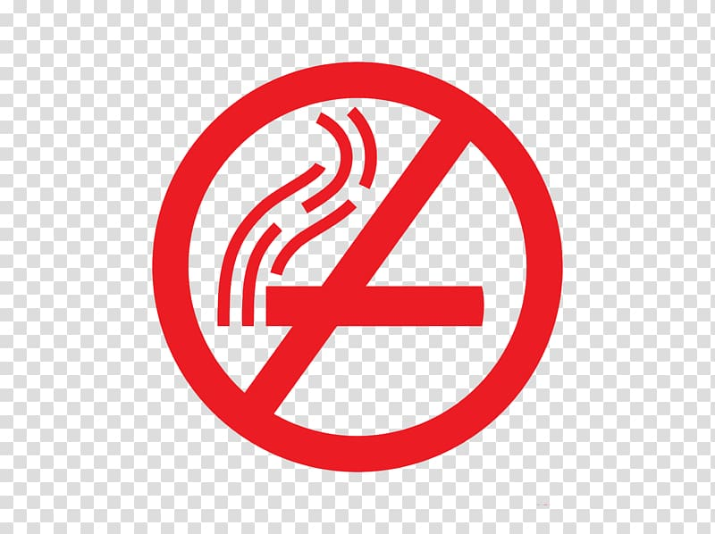 Smoking ban Sign, No smoking tips transparent background PNG.