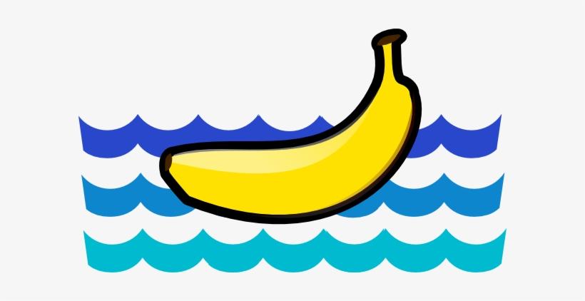 Banana Boat Clip Art Transparent PNG.