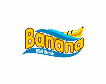 Banana boat Logos.