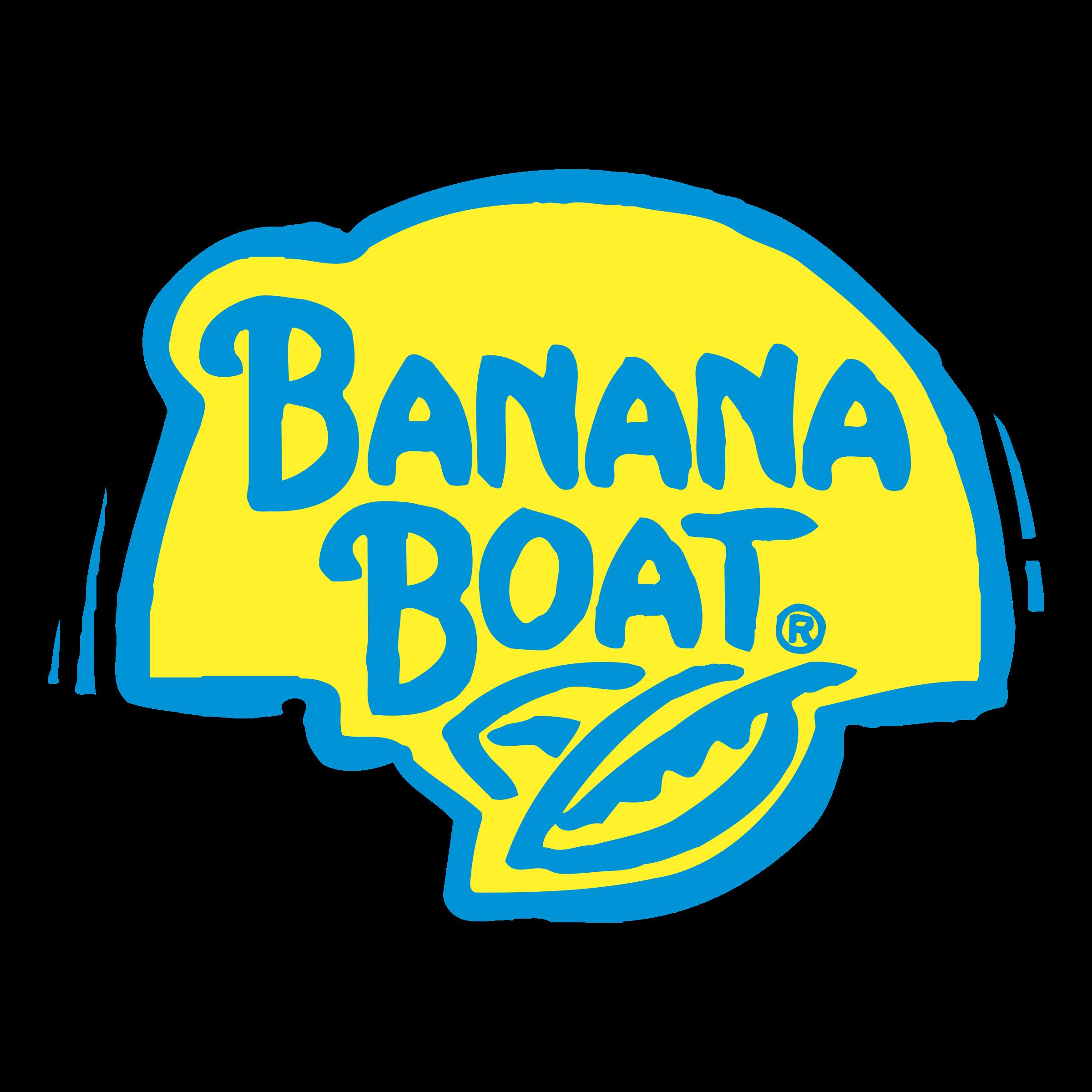 Banana Boat Logo PNG Transparent & SVG Vector.