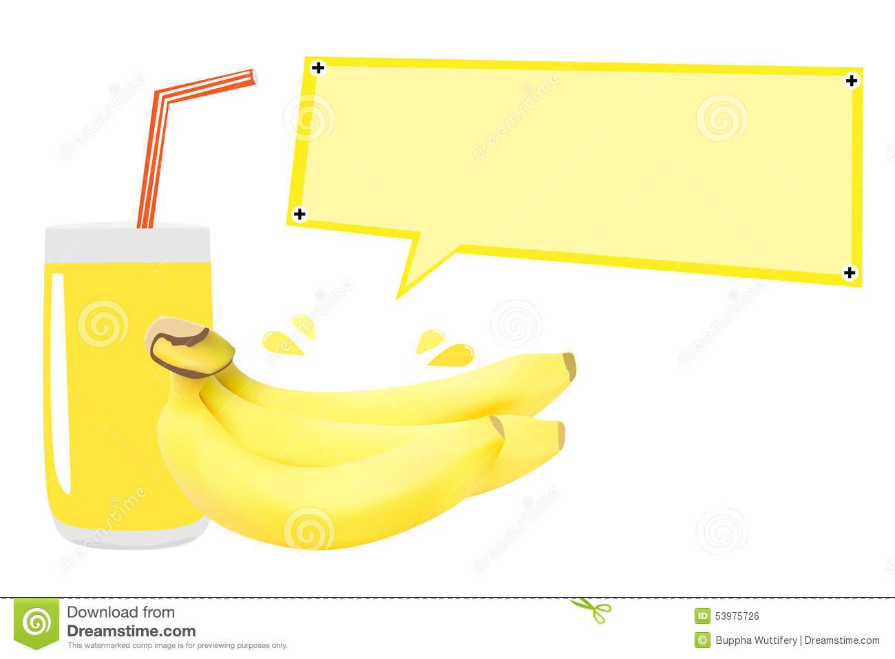 Banana Vector Stock Vector.