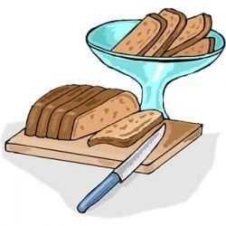 Clipart banana bread.