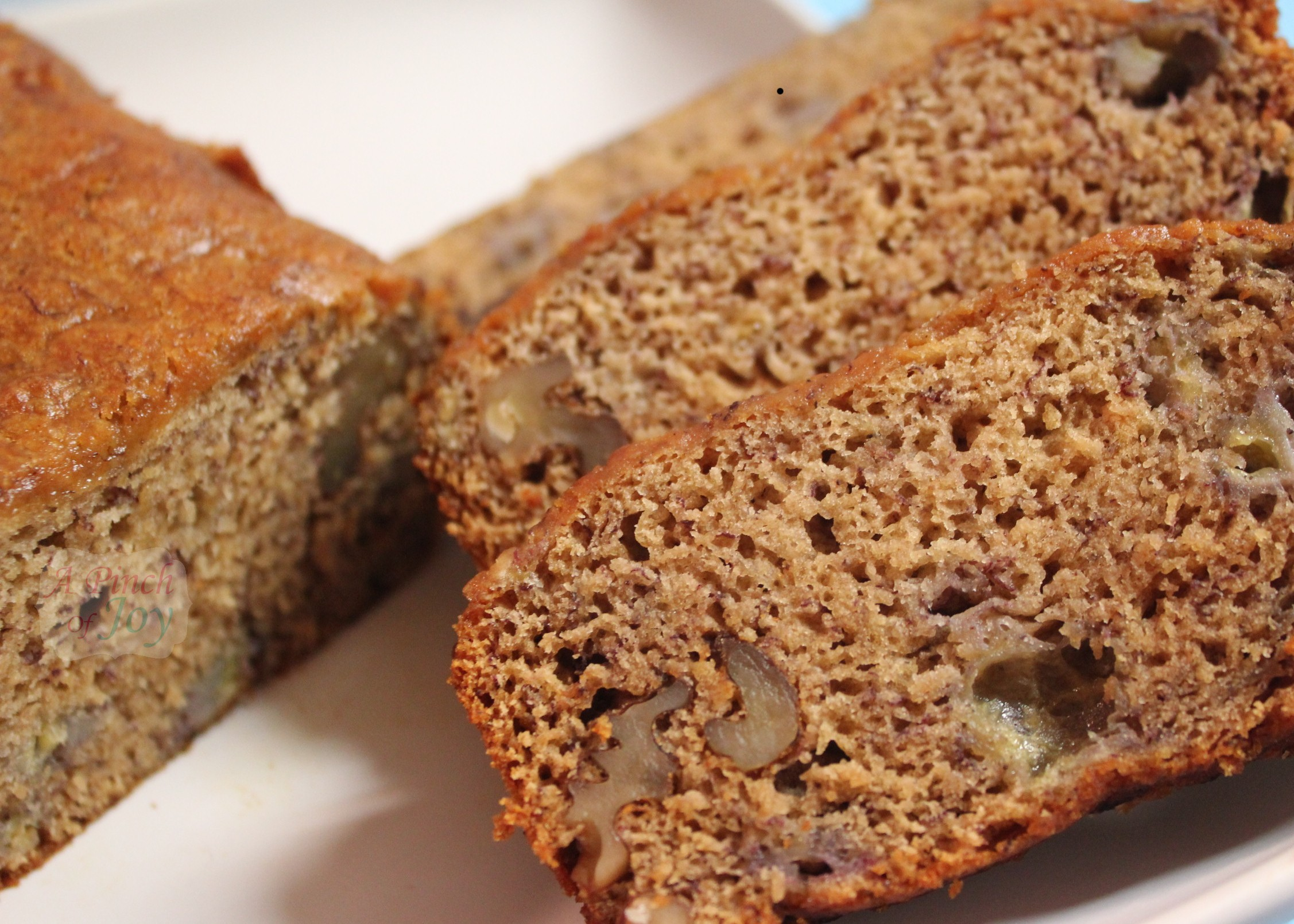 Honey Banana Bread.