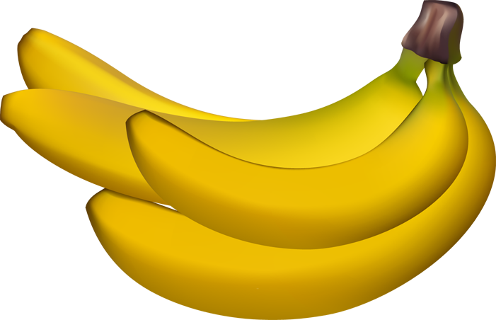 Banana bunch clip art.