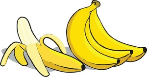 Bunch Of Bananas Clipart.