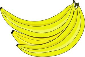 Bananas clipart image bunch of bananas.