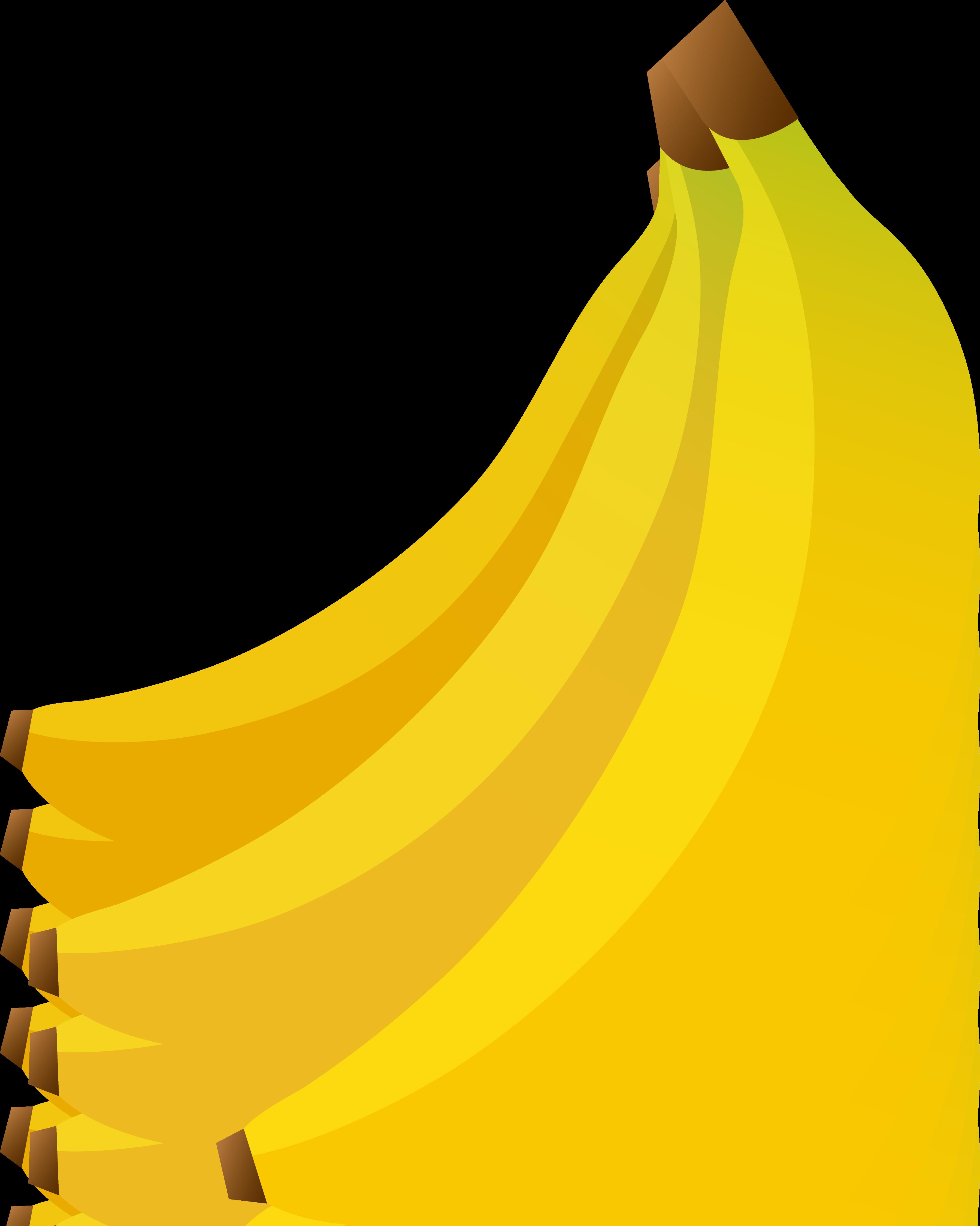 Banana bunch clip art.