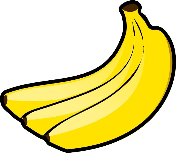 Bananas clip art Free vector in Open office drawing svg ( .svg.