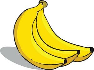 Banana clipart 6.