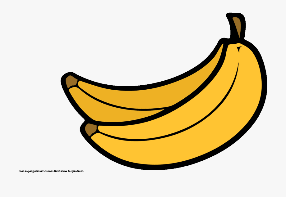 Clipart Of Banana, Silicon And Banana Free.